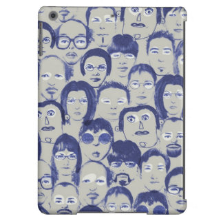 Funny People Faces Graphics Collection iPad Air Cover