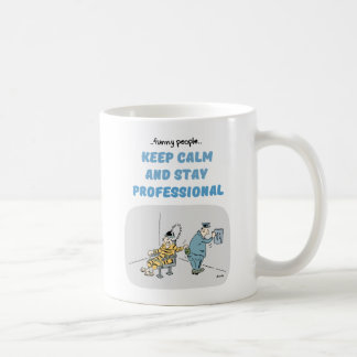 Funny People Professional Quotes Mug
