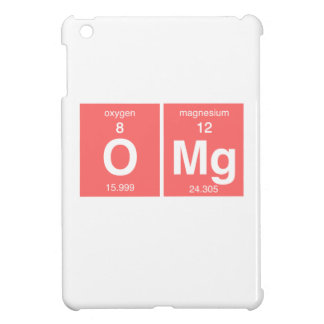 "Funny Periodic table ""OMG"" iPad Mini Covers"