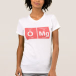 """Funny Periodic table """"OMG"""" T Shirts"""