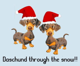 funny personalised dog christmas card - Funny Dog Christmas Cards