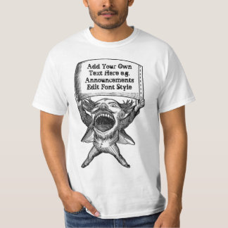 Funny personalized announcements T-Shirt