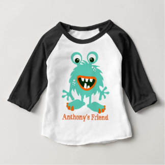 Funny personalized monster puppet baby T-Shirt