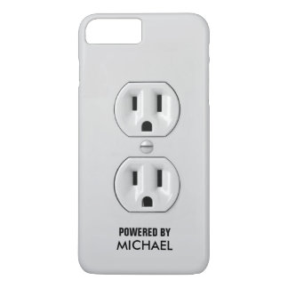 Funny Personalized Power Outlet iPhone 7 Plus Case