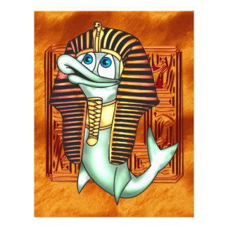Funny Pharaoh Fish 21.5 Cm X 28 Cm Flyer