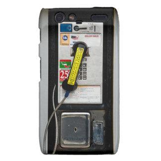 Funny Phone Booth Motorola Droid RAZR Cases