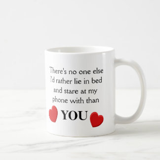 Funny Phone Love - Mug