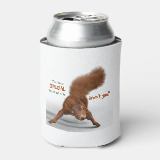 Funny Photo of Red Squirrel | Special Kind of Nuts Can Cooler