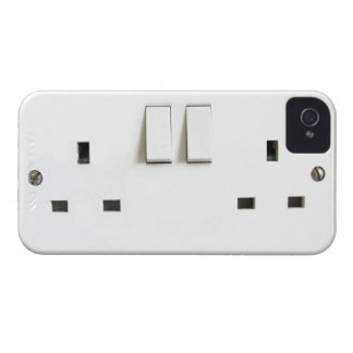 Funny Photo of UK Electrical Outlet On iPhone Case