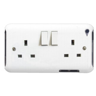 Funny Photo of UK Electrical Outlet On ipod Case iPod Touch Case-Mate Case