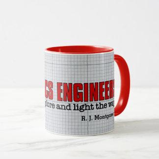 Funny Photonics Engineers Light the Way with Name Mug