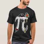 Funny Pi rate Pi Day Humour T-Shirt