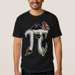 Funny Pi rate Pi Day Humour Tee Shirt