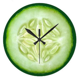 Funny Pickle Kitchen Wall Clocks