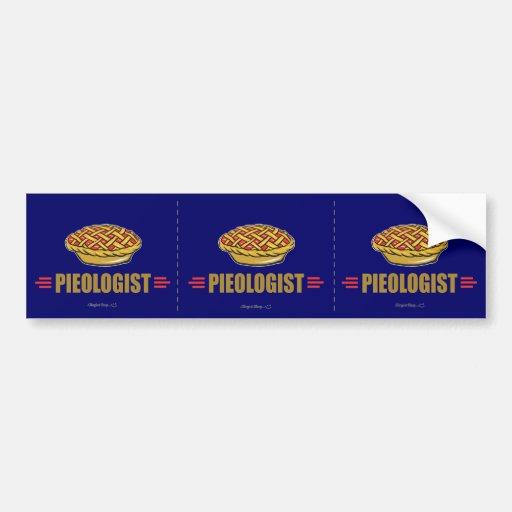 Funny Pie Bumper Sticker