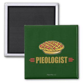 Funny Pie Square Magnet