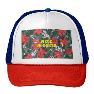 Funny Piece On Earth Pro Gun Christmas Cap