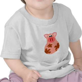Funny Pig Baby T-Shirt