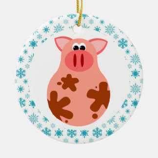Funny Pig Christmas Ornament Gift