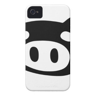 Funny Pig Shape iPhone 4 Case-Mate Cases