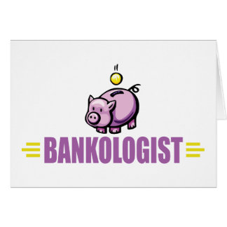 Funny Piggy Bank Card
