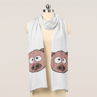 Funny Pigs Scarf