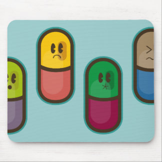 funny pills mousepad