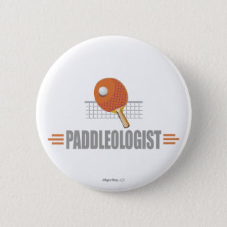 Funny Ping Pong 6 Cm Round Badge