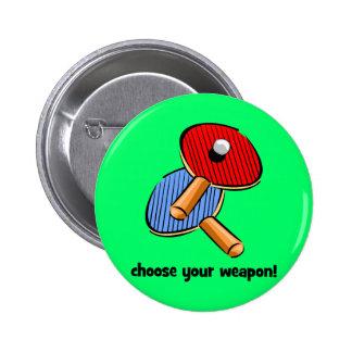 funny ping pong pin