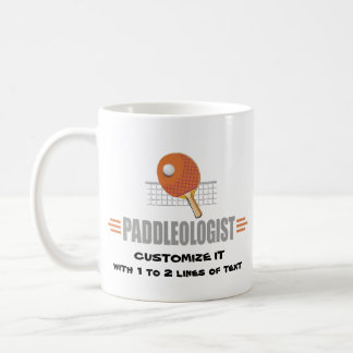 Funny Ping Pong Basic White Mug