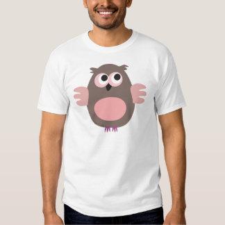 Funny pink owl shirt