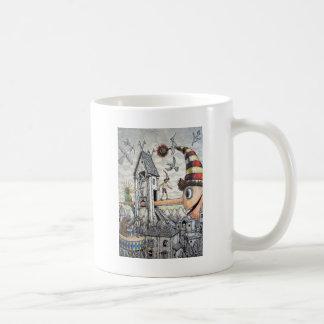 Funny Pinocchio Basic White Mug