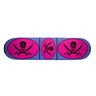 Funny Pirate Deluxe 20.6 Cm Skateboard Deck