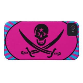 Funny Pirate Deluxe iPhone 4 Cases