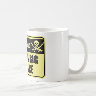 Funny Pirate I Have A Big Pinnace Basic White Mug