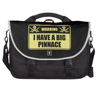 Funny Pirate I Have A Big Pinnace Laptop Bags