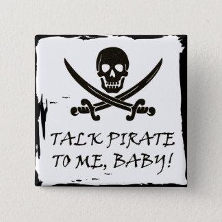 Funny Pirate Talk Button