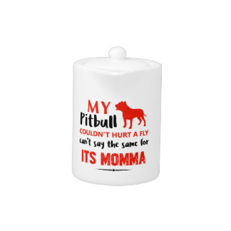 Funny Pit-bull Mommy designs