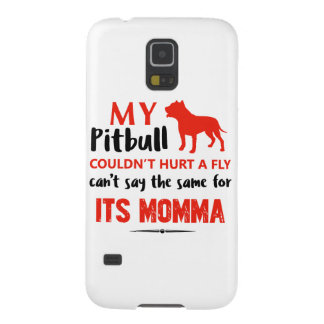 Funny Pit-bull Mommy designs Galaxy S5 Cover