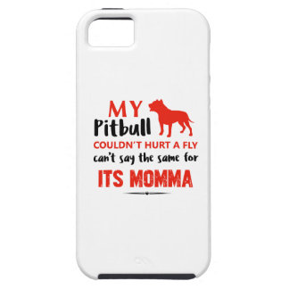 Funny Pit-bull Mommy designs iPhone 5 Covers