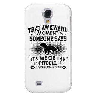 Funny Pitbull Designs Samsung Galaxy S4 Case