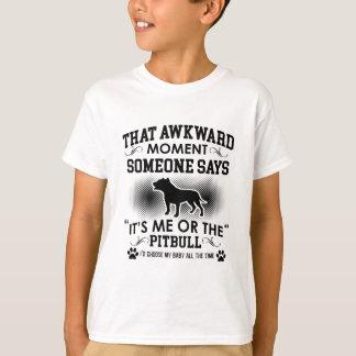 Funny Pitbull Designs T-Shirt