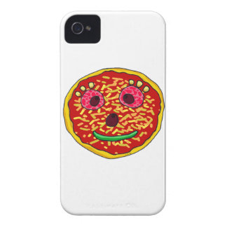 Funny pizza face iPhone 4 case