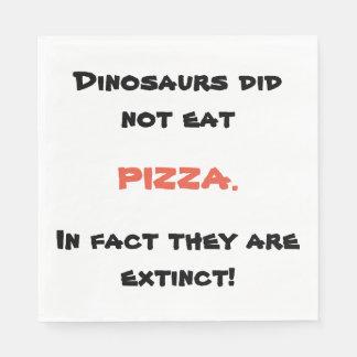 Funny pizza napkins disposable napkins