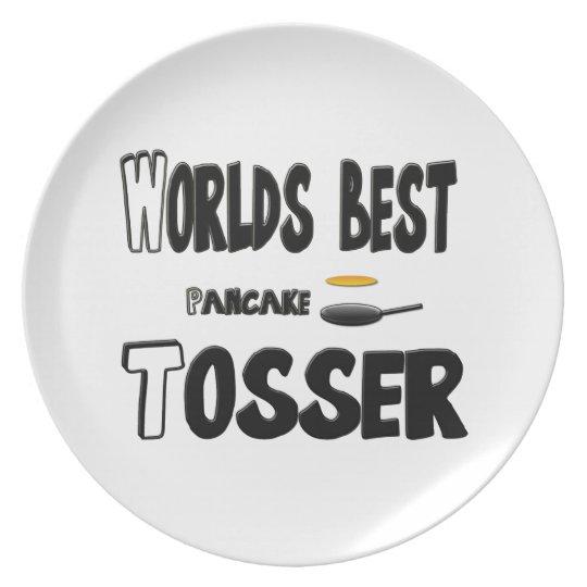 Funny plate (pancake tosser)