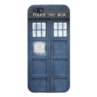 Funny police phone box iPhone 5 cover