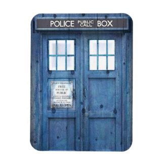 Funny Police phone Public Call Box Rectangular Photo Magnet