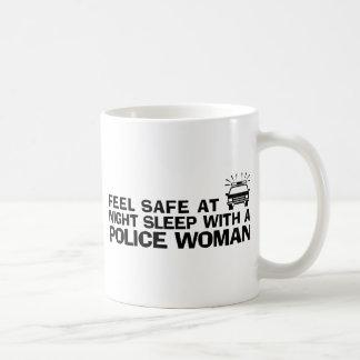 Funny Police Woman Mugs