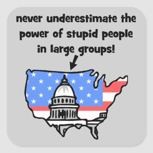 funny politics square stickers