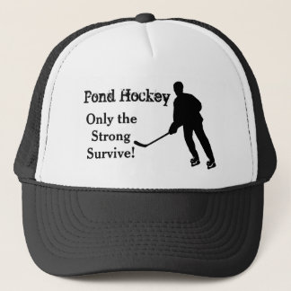 Funny Pond Hockey Trucker Hat